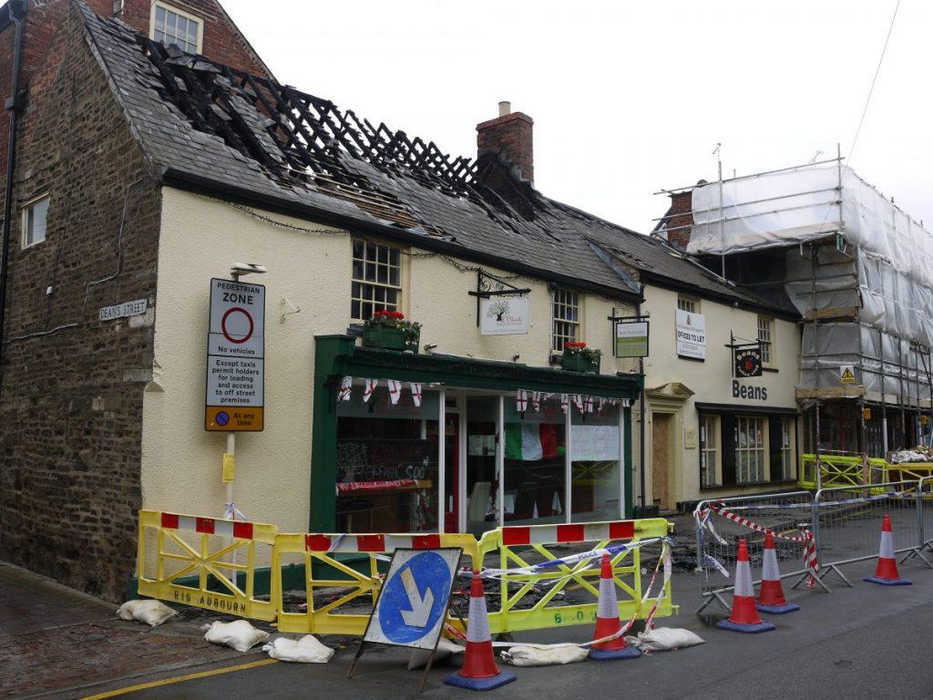 Breaking News – Fire in Oakham