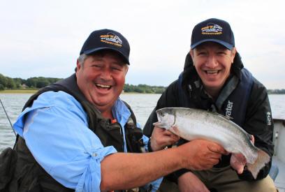 Fishing in Rutland Water