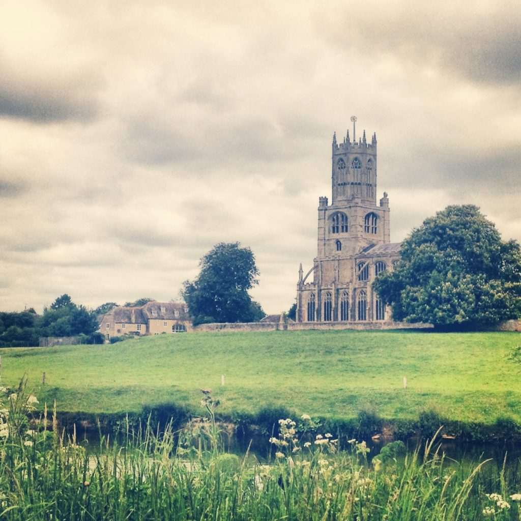 Fotheringhay – another historic site nearby