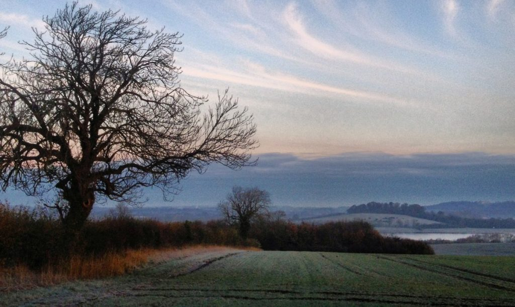 A gorgeous Winter's Day in Rutland
