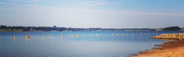 Rutland Water beach to open early!