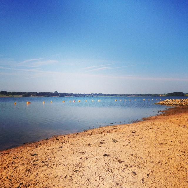 Rutland Water Beach