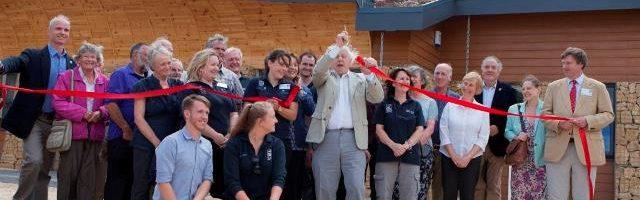 Sir David opens new centre at Rutland Water