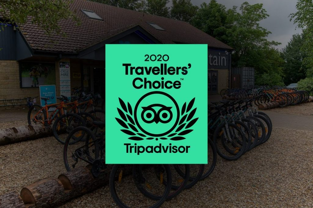 Rutland Water Cycle Hire is in top 10% of worldwide attractions!